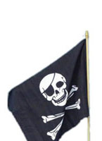 Drapeau de pirates Accessoire de Pirate