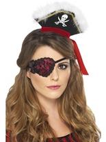 Dentelle Pirate Eyepatch Accessoire de Pirate