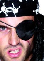 Pirate Eye Patch noir Accessoire de Pirate