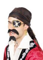 Boucle d'oreille et cache-oeil pirates Accessoire de Pirate