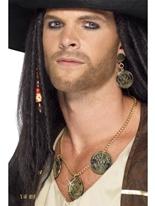 Ensemble de bijoux de pirate Accessoire de Pirate