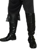Couvre-bottes Pirate luxe Accessoire de Pirate
