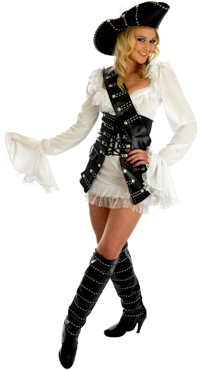 Costume de Pirate adulte Costume de Pirate de Cape et d'épée Babe