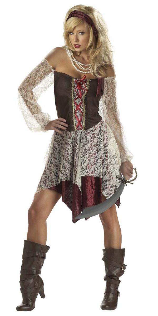 Costume de Pirate adulte Costume de sirène des mers du Sud