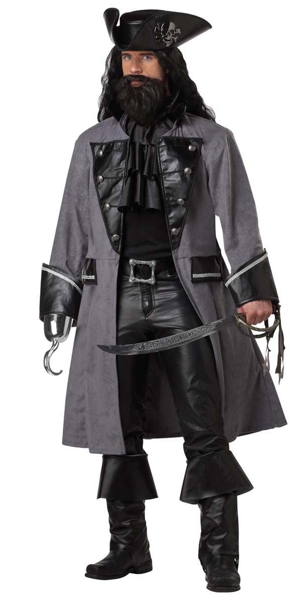 Costume de Pirate adulte Barbe noire le Pirate Costume