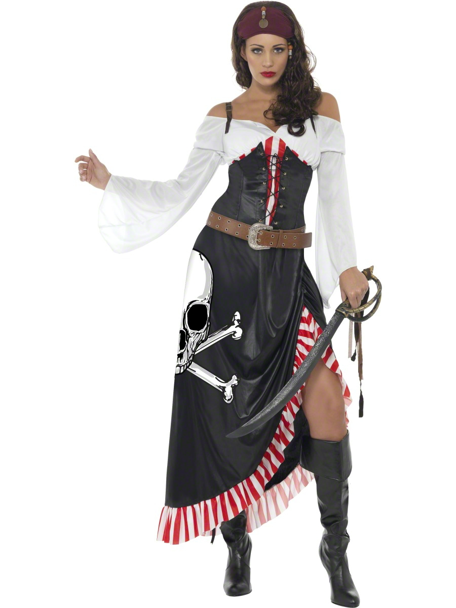 Slip on a pirate captain Halloween costume and show them that you're the real leader of the ship. If they misbehave, just make 'em walk the plank. If they misbehave, just make 'em walk the plank.