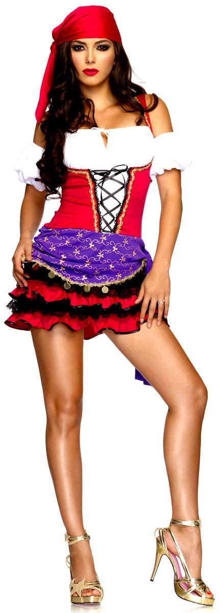 Costume de Pirate adulte Costume de gitane de boule de cristal