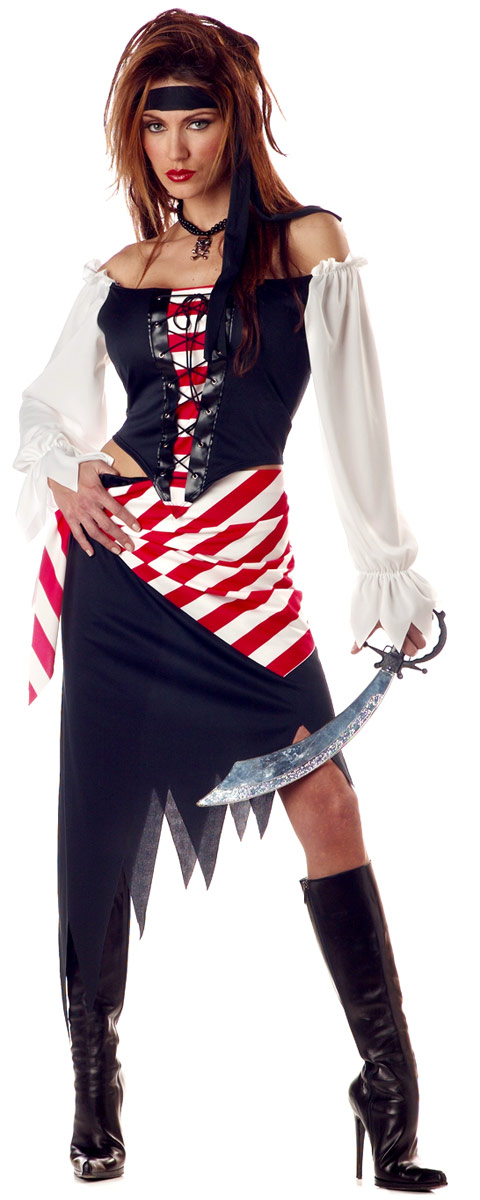 Costume de Pirate adulte Rubis la beauté Pirate Costume