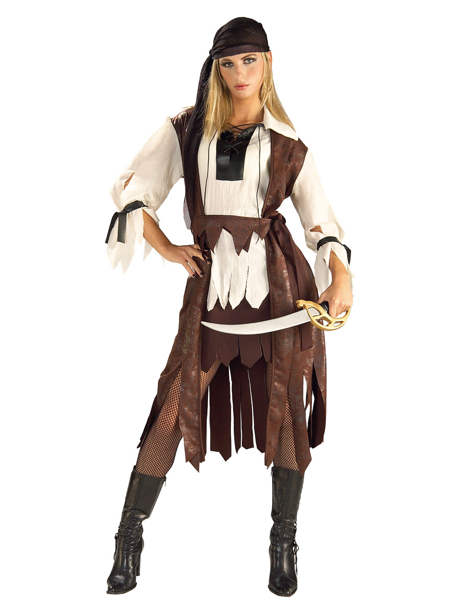 Costume de Pirate adulte Costume de Pirate des Caraïbes Babe