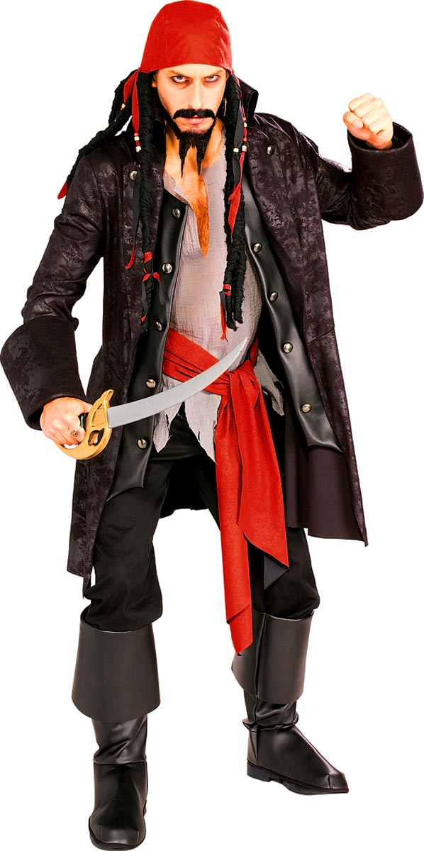 Costume de Pirate adulte Costume capitaine Pirate de fardée