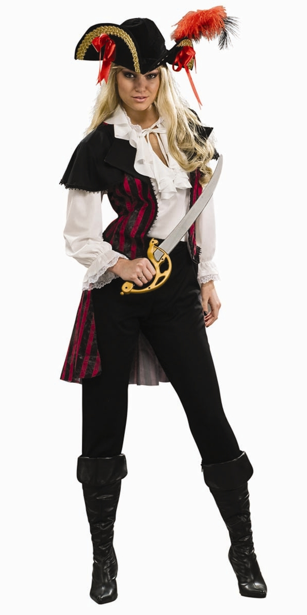 Plunder even bigger savings on adult pirate costumes by stopping by our Deals of the Day for clearance prices up to 90% off! Don't waste time searching for buried treasure: Find your new favorite Halloween costume and the best deals on the Seven Seas with a pirate costume from Costume Craze! Last updated by Kate Maloney.