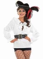 Chemise Pirate blanc Costume de Pirate adulte