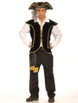 Gilet de pirates Costume de Pirate adulte
