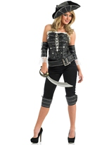 Navire Mate Costume Costume de Pirate adulte