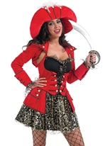 Costume Pirate fastueux Costume de Pirate adulte