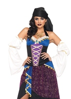 Carte de Tarot gitan Costume Costume de Pirate adulte