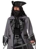 Barbe noire le Pirate Costume Costume de Pirate adulte