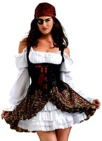 Buccaneer Babe Costume Costume de Pirate adulte