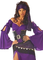 Costume tsigane Mystic séductrice Costume de Pirate adulte