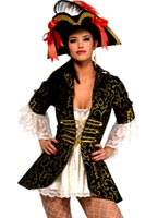 Costume reine pirate Costume de Pirate adulte