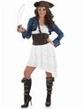 Costume de Pirate adulte Ra Ra Pirate Girl Costume