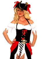 Costume de pirate beauté Costume de Pirate adulte