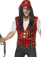 Pirate Kit instantanée Costume de Pirate adulte