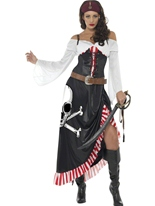 Costume de Cape et d'épée sensuelle Costume de Pirate adulte