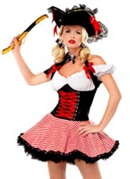 Costume de Pirate Wench Costume de Pirate adulte