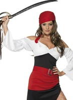 Costume de Pirate impertinent Wench Costume de Pirate adulte