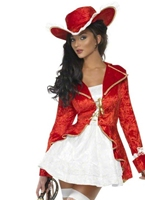 Costume de Pirate sensuelle de fièvre Costume de Pirate adulte