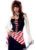 Rubis la beauté Pirate Costume Costume de Pirate adulte
