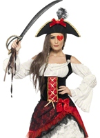 Costume de Pirate glamour Lady Costume de Pirate adulte