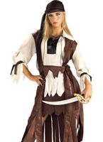 Costume de Pirate des Caraïbes Babe Costume de Pirate adulte