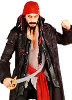 Costume capitaine Pirate de fardée Costume de Pirate adulte