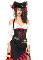 Costume de Pirate Wench impertinente Costume de Pirate adulte