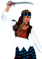 Costume de Lady Pirate des Caraïbes Costume de Pirate adulte