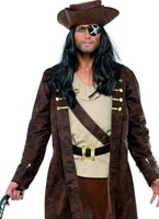 Costume boucanier Costume de Pirate adulte