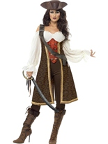 Costume de haute mer Pirate Wench Costume de Pirate adulte