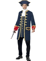 Costume de pirate commandant Costume de Pirate adulte