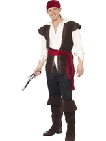 Costume Pirate de mens Costume de Pirate adulte