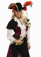 Costume de Pirate de Marie La Fay Costume de Pirate adulte