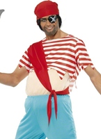 Top Costume de pirate Mate farcie Costume de Pirate adulte