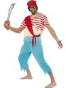Costume de Pirate adulte Top Costume de pirate Mate farcie