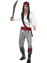 Costume de pirates Costume de Pirate adulte