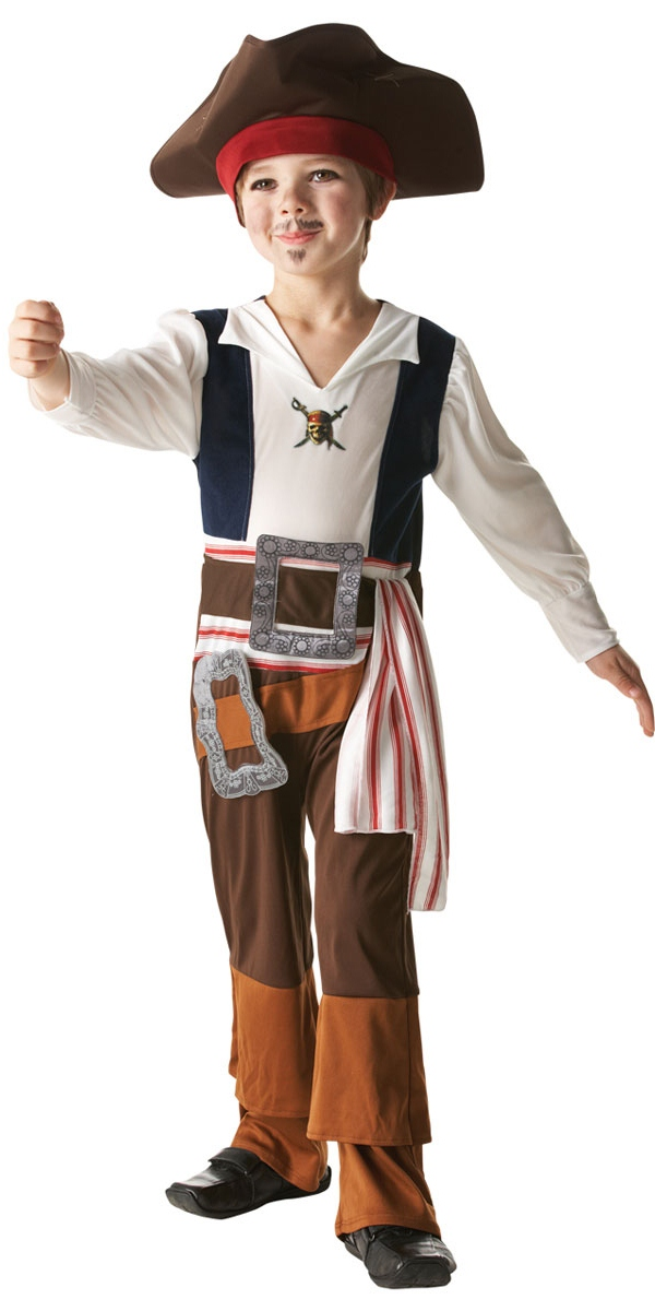 Costume de Pirate Enfant Childrens Jack Sparrow Costume