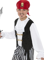 Costume de Pirates Deluxe Childens Costume de Pirate Enfant