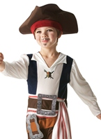 Childrens Jack Sparrow Costume Costume de Pirate Enfant