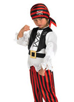 Costume de Pirate Raggy pour enfants Costume de Pirate Enfant