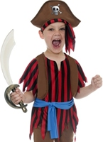 Costume de pirate garçon Childrens Costume de Pirate Enfant